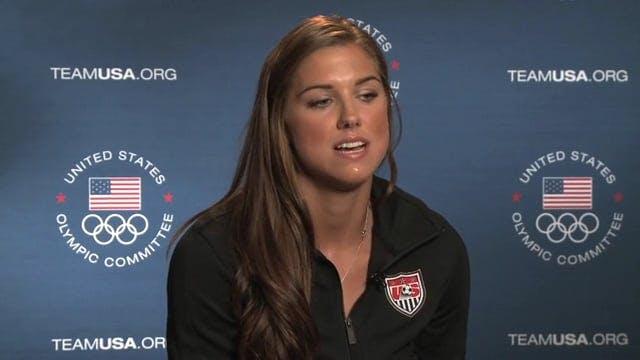 Alex Morgan US Women's Soccer