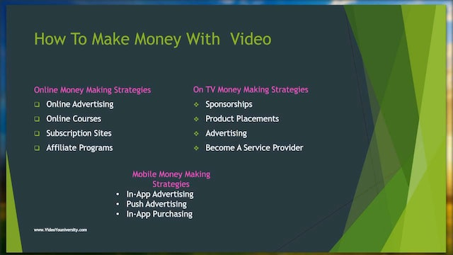 Video #4: Xstream Xposure How To Make Money