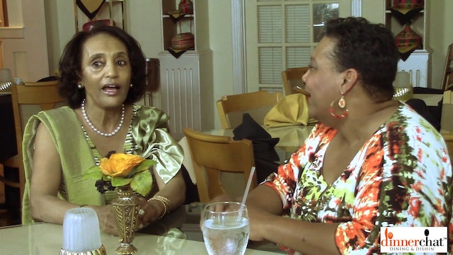 Dinner Chat with Elsa Kiflom, Ethiopian Cusine