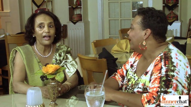 Dinner Chat with Elsa Kiflom, Ethiopian Cusine