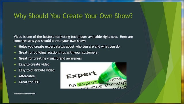 Video #2 Xstream Xposure Hosting Your Own Show