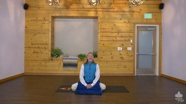 Morning Meditation - Krishna White