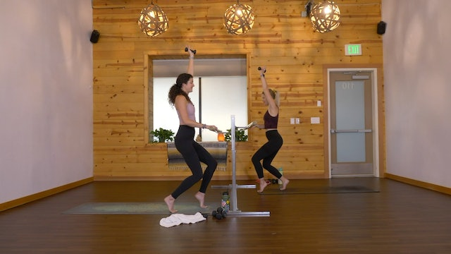 sparkBARRE 38 (25 Min) - Steph Young