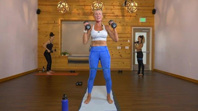 20 Min Lower Body Circuit - Brooke Wa...