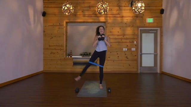 sparkABS+GLUTES (15 Min) - Steph Young