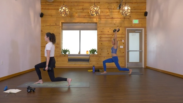 Lower Body Burner (15 min) - Steph Young