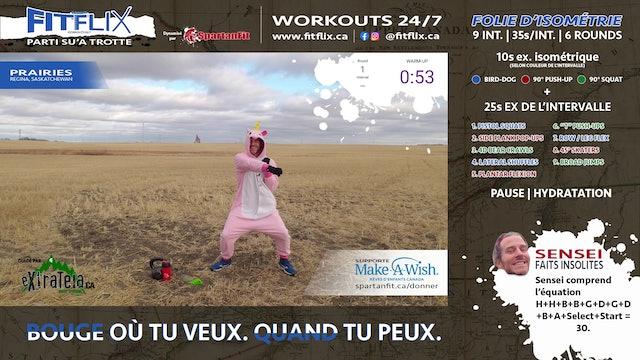 WOD 027 | FITFLIX.CA PARTI SU'A TROTTE | PRAIRIES, SASK