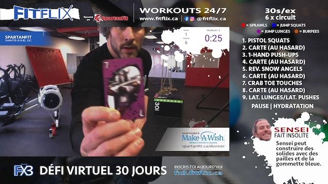 WOD 029 | FITFLIX.CA | JEUX DE CARTES