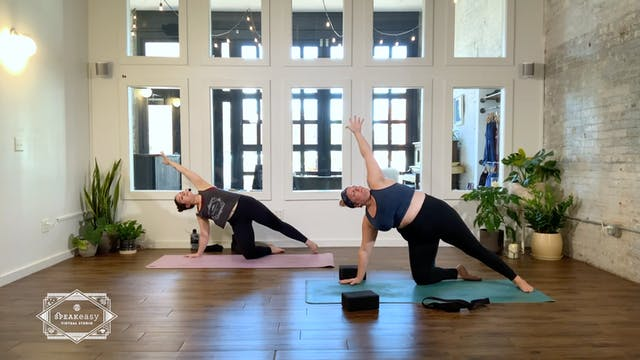 Strong + Stretch | M'Le Leach | 60 mi...