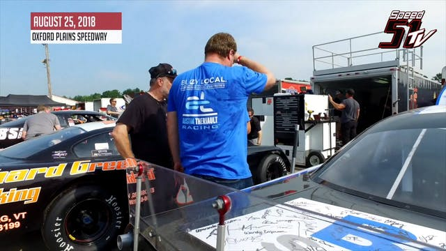 Austin Theriault at the Oxford 250 - ...
