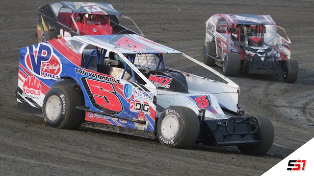 LIVE DIRTcar Sportsman Modifieds at Lake View - Jan. 29, 2021