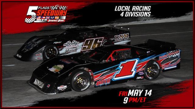 Local Racing at Five Flags - Replay - May 14, 2021
