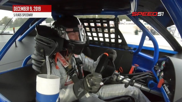 Derek Griffith, Snowball Derby at Five Flags - On Board - Dec. 9, 2019