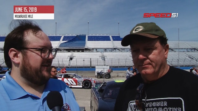 Rich Bickle One on One at Milwaukee Mile - June 15, 2019