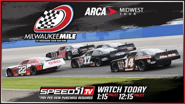 Midwest Tour at Milwaukee - Replay - ...