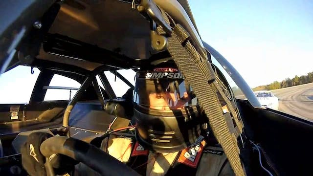 Jordan Pruitt at Speedfest - On-Board