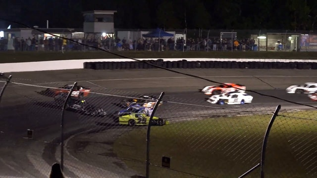 PASS Super Late Models at White Mountain - Replay - Sept 18, 2021 - Part 1