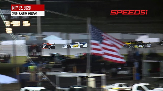 Rattler Super Stock Feature at South Alabama - Highlights
