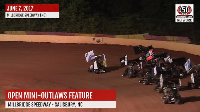 Outlaws Millbridge Speedway Highlight...