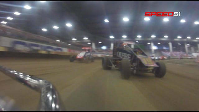 Tucker Klassmeyer at Chili Bowl Frida...