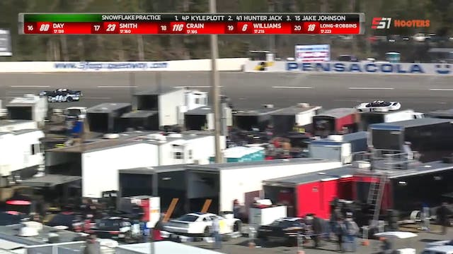 53rd Snowball Derby Saturday Practice...