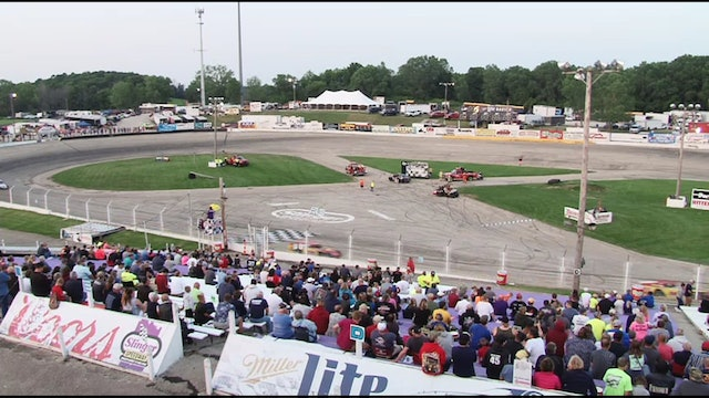 Prelude to the Nationals Modifieds at Slinger - Replay - July 7, 2019