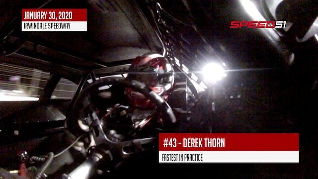 Derek Thorn at Irwindale - On Board -...