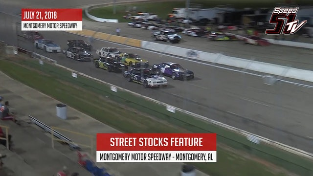 Street Stocks at Montgomery - Highlights July 21, 2018