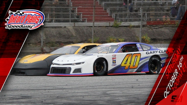 10.16.21 - PASS Super Late Models at Oxford