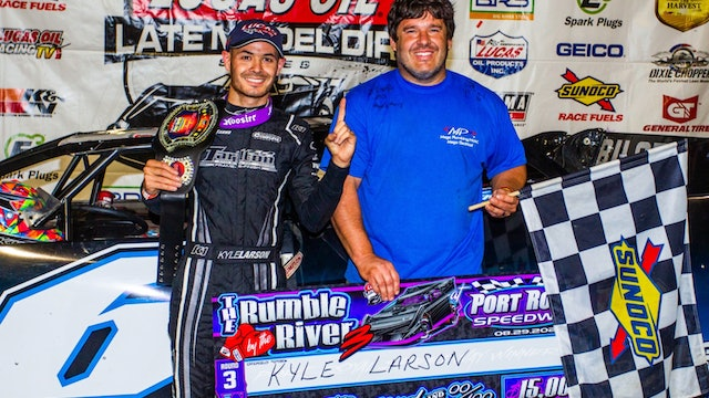 Larson Discusses First Dirt Late Model Win - #TheBullring Ep. 65