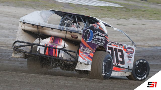 LIVE DIRTcar Sportsman Modifieds at Lake View - Jan. 30, 2021