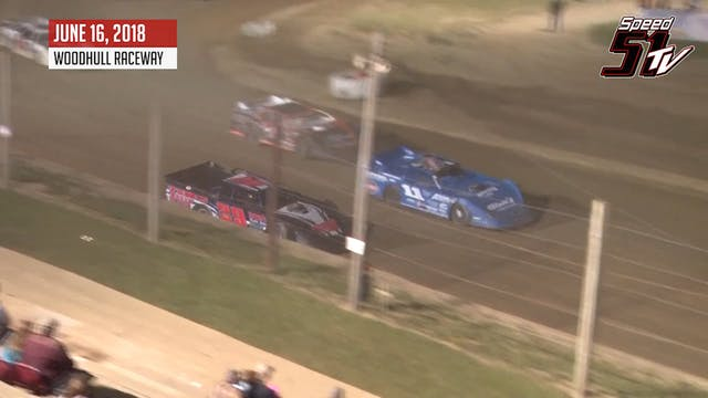 Crate Late Models at Woodhull - Highl...