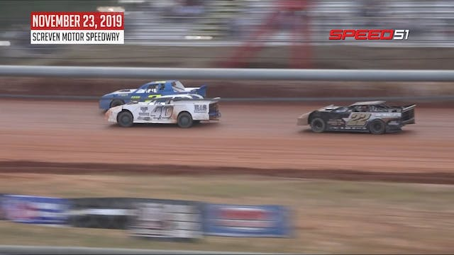 Street Stock V-8 at Screven - Highlig...