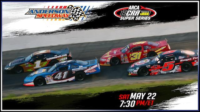 ARCA/CRA Super Series at Anderson - Replay - May 22, 2021