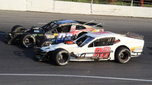 Open Modified 100 at Claremont - Highlights - Aug. 28, 2020