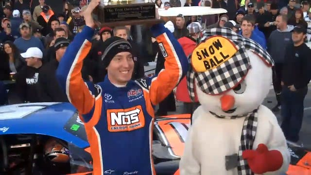 Kyle Busch 42nd Annual Snowball Derby...