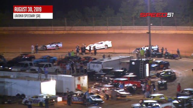 602 Late Models at Lavonia - Highligh...