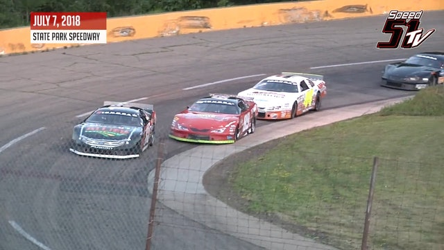 TUNDRA Super Late Models at State Park - Highlights July 7, 2018