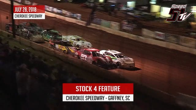 Stock 4 at Cherokee Speedway - Highli...