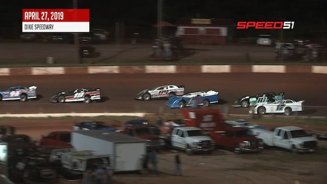 Crate Late Models at Dixie - Highligh...
