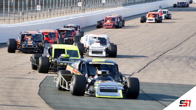 LIVE Modified Racing Series at Wiscasset - July 31, 2021