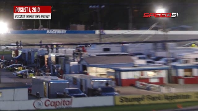 Super Late Model Blue Race at Wiscons...