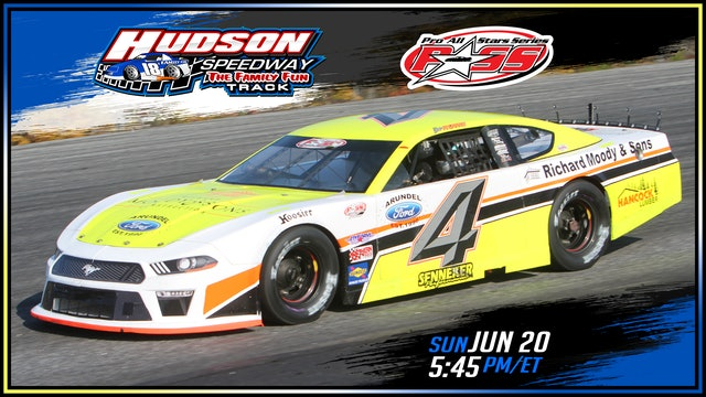 PASS Super Late Models at Hudson - Replay - June 20, 2021