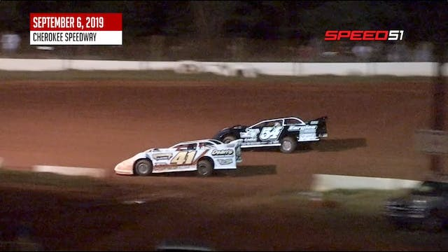 602 Late Models at Cherokee - Highlig...