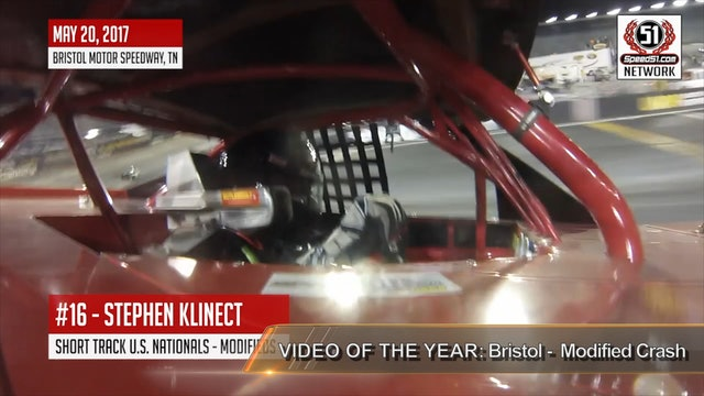 2018 Speed51 Awards - VOTY  #9 - Bristol - Modified Crash