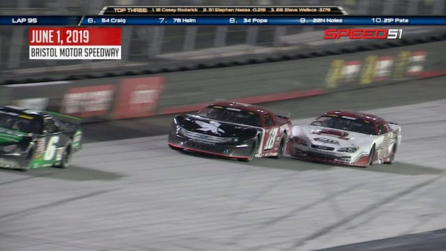 Super Late Model at Bristol - Highlig...