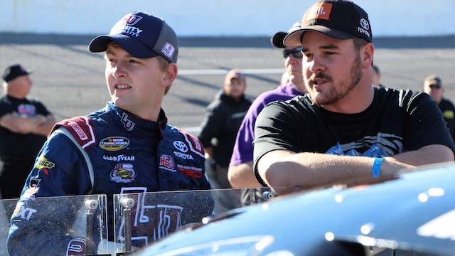 William Byron Race Shop - Interview -...