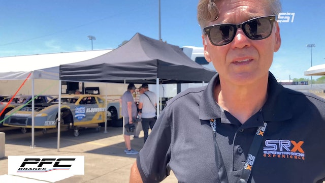 Ray Evernham SRX at Knoxville - Interview - June 19, 2021