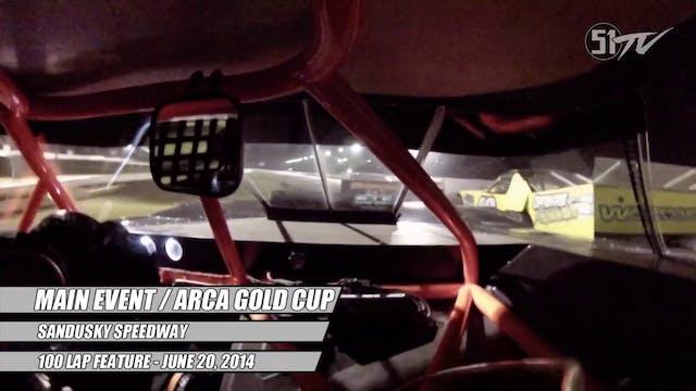 Main Event / ARCA Gold Cup at Sandusk...