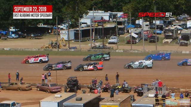 602 Crate Late Models at East Alabama...